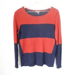 Vince Camuto Striped Colorblock Sweater